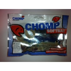"CHOMP LARGE SERIES SOFTBAIT, BLUE/WHITE, 10"" (250mm), 100 GRAMS, 1P/BAG"