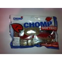 "CHOMP EXTRA LARGE SERIES SOFTBAIT, RED/WHITE, 14"" (350MM), 200 GRAMS, 1P/BAG"