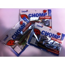 CHOMP SOFTBAIT TRIAL PACKS, 2P/BAG (16)