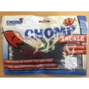 CHOMP FLASHER RIGS - 80LB NYLON WITH TWO MUTSU HOOKS SIZE 6/0 - RED TINSEL - (1 BAG)