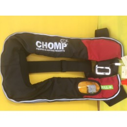 Adult Lifejacket, Manual CO2 Gas Inflatable, 150N (150kg), Pull cord to inflate
